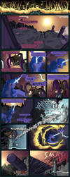 Rocket to Insanity: An Angry Grey 5 by seventozen