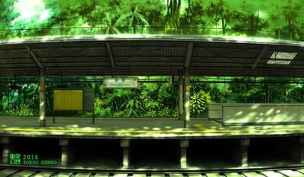 Shinbashi Station      summer 2014
