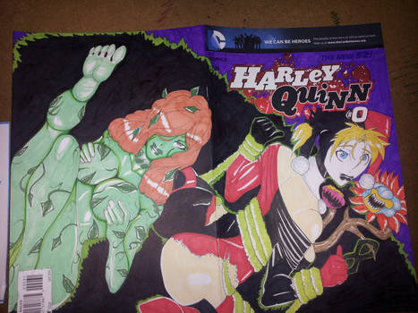 Sketch Cover Commission: Harley Quinn