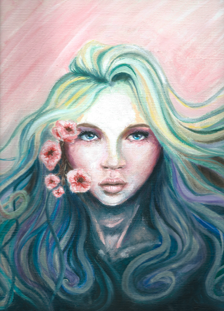 Spring girl by Jestas