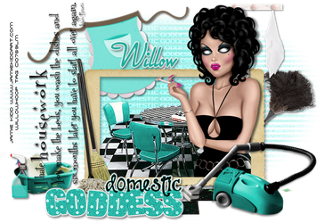 Domestic Goddess by Willow-Hoop
