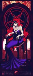 XV - The Devil by Sillabub429