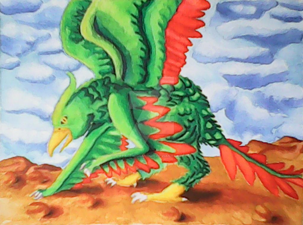 Gryphonteryx by Riffadewi05Anggie