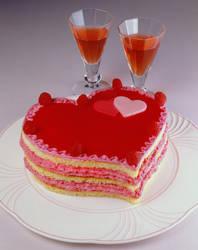 gateau st Valentin
