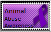 Animal Abuse Awareness stamp by cosmicgallifrey