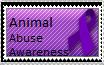 Animal Abuse Awareness stamp by cosmicgallifrey