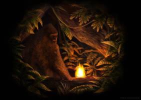 Bigfoot by JohnPatsakios