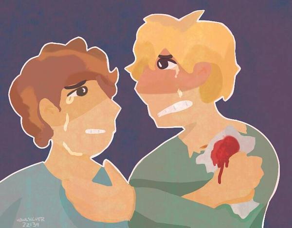 The Death of Mercutio by howlsilver22139