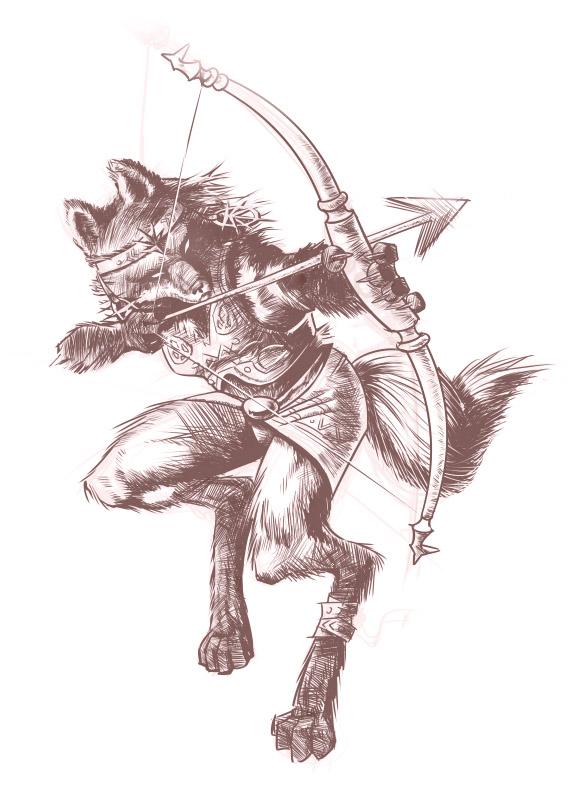 Fox Warrior by VeGaKa on deviantART