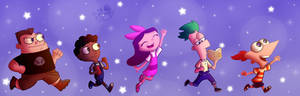Phineas And ferb (speedpaint)