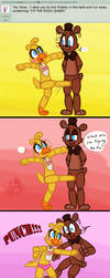 Ask FNAF 35 by Marie-Mike