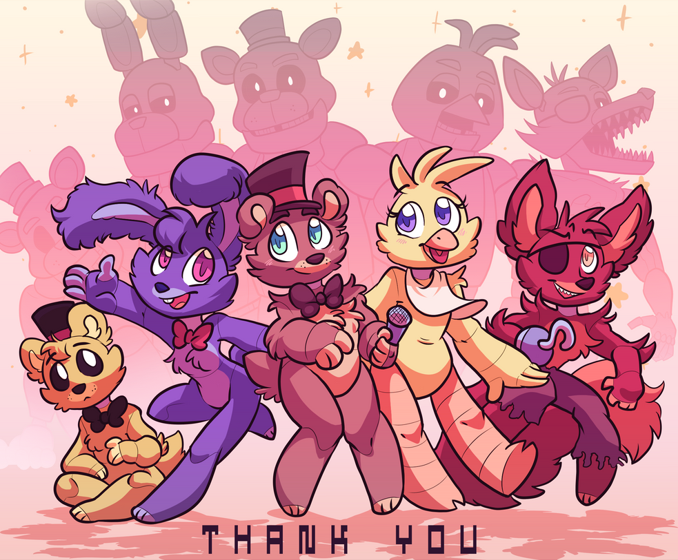 Five Nights At Freddys Thank You