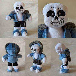 Sans the Skeleton Undertale Plush