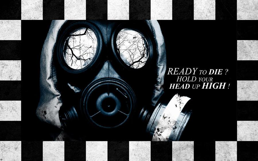 Gasmask Wallpaper By Stillfreemc