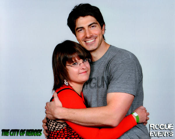 Meeting Brandon Routh by punkette180
