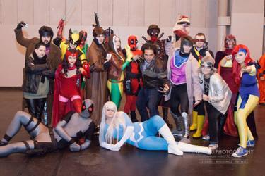 X-Men Assemble by punkette180