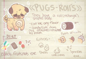 Pugsrolls Species guide by HotaruSenpai
