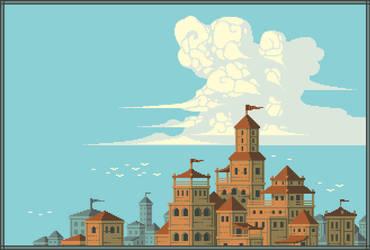 Caelum Citadel by SaintBonkers