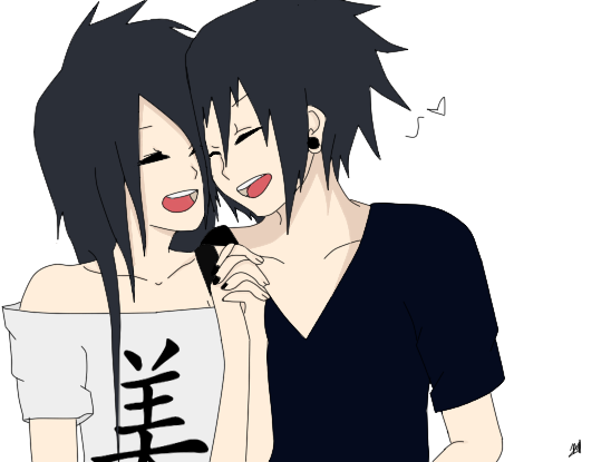 Anime Twins Boy Girl Evil - ma