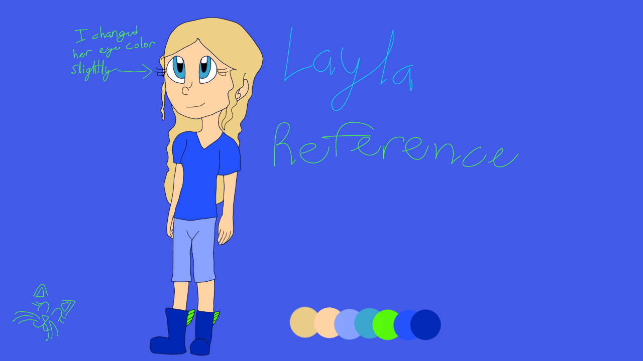Layla Reference by Oceanrush