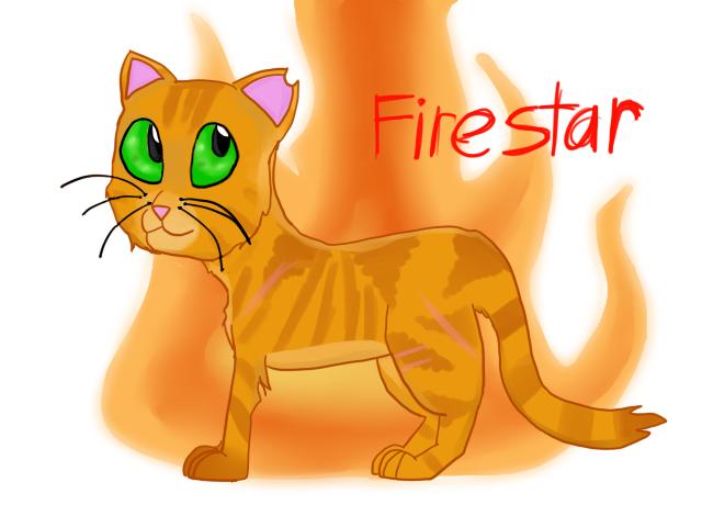 *Kinda Old* Firestar by Oceanrush