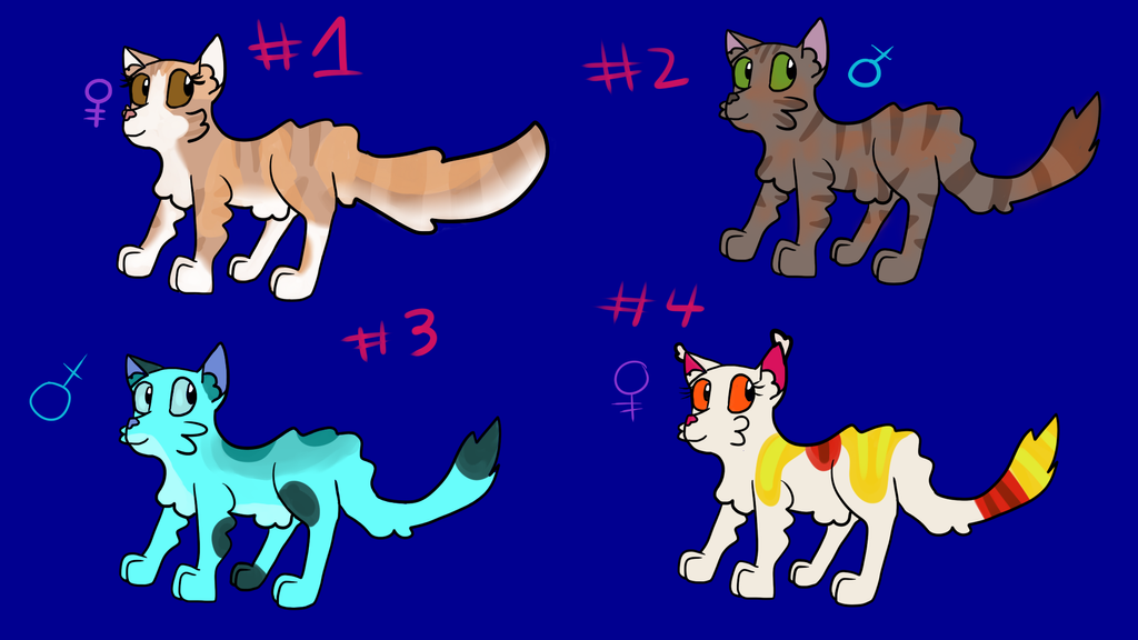 Adoptables #1 by Oceanrush