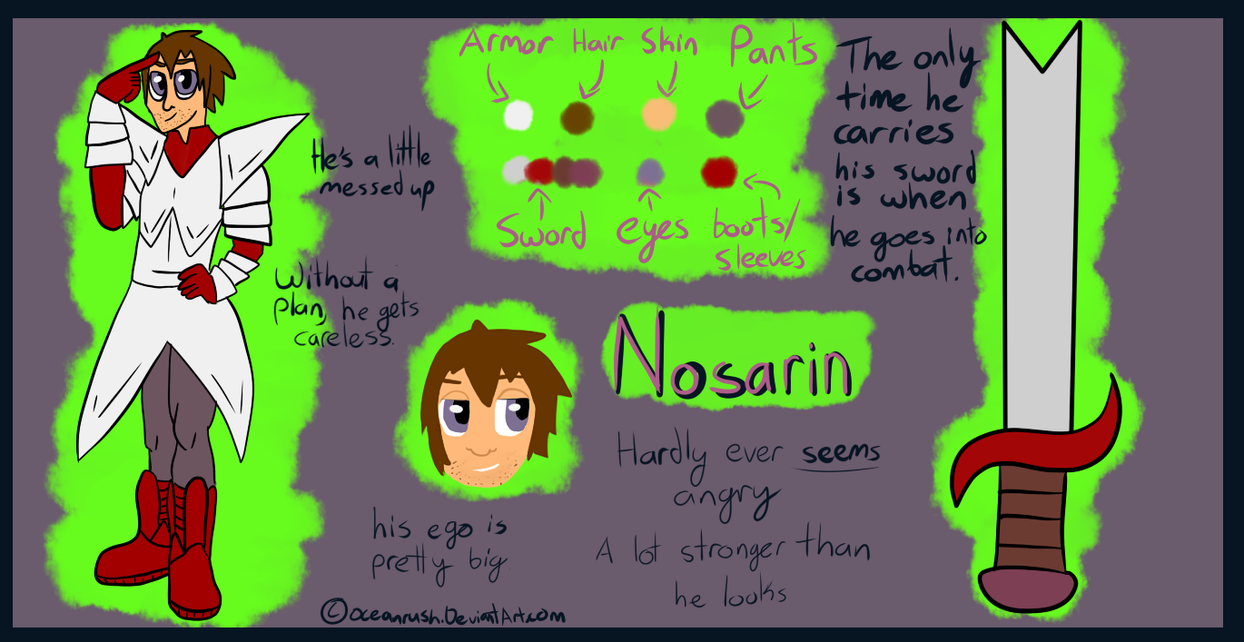 Nosarin Reference by Oceanrush
