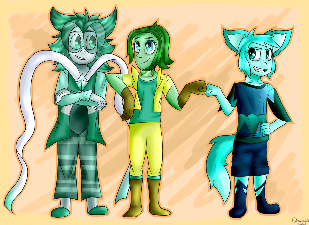 The True Green Gems by Oceanrush