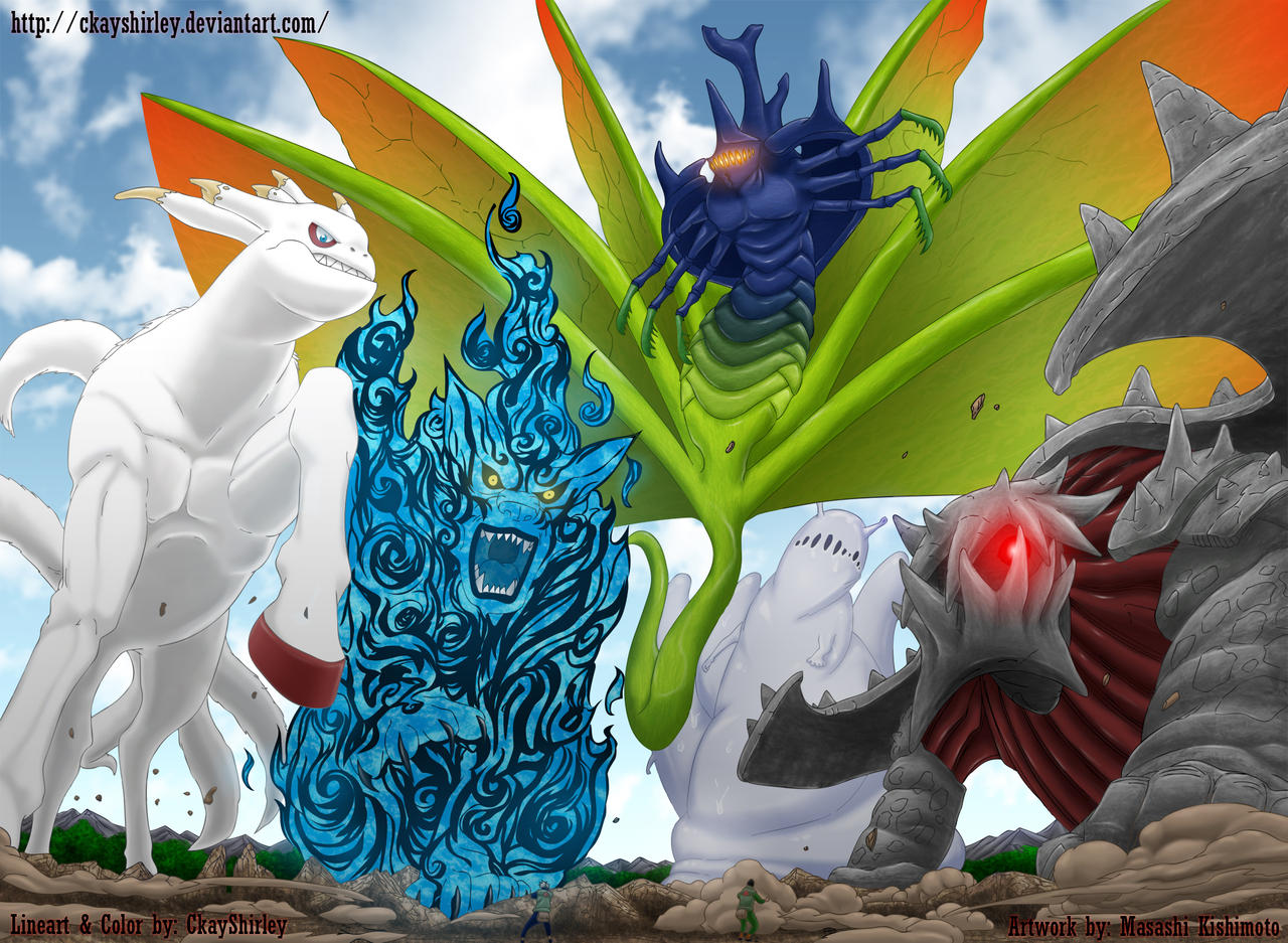 Tailed Beasts by CkayShirley on DeviantArt