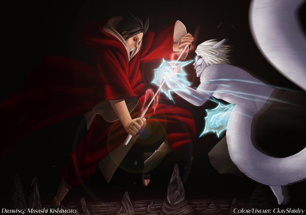Itachi And Sasuke Vs Kabuto Sennin mōdo kabuto vs.