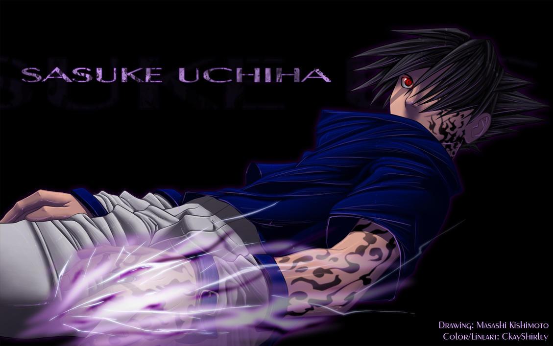 Cursed Mark Sasuke by CkayShirley on DeviantArt