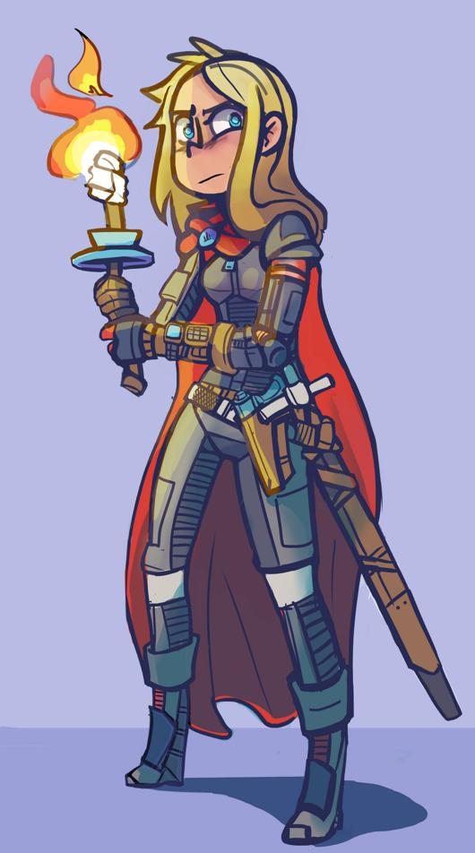 Future knight by terminarch
