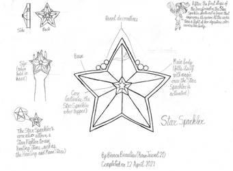 (Concept) Star Sparkler (Sketch)