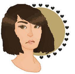 MS Paint girl