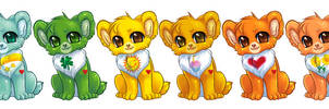 Care Bear Rainbow by bricu