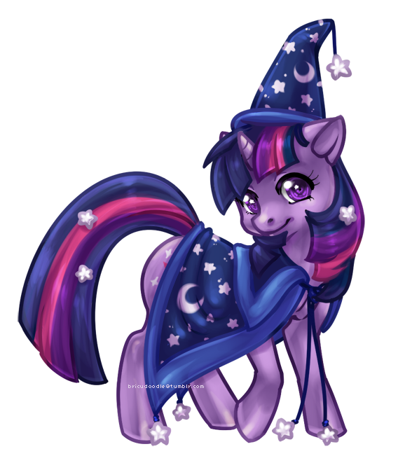 Halloween Twilight Sparkle by bricu