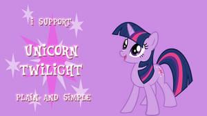 I Support Unicorn Twilight