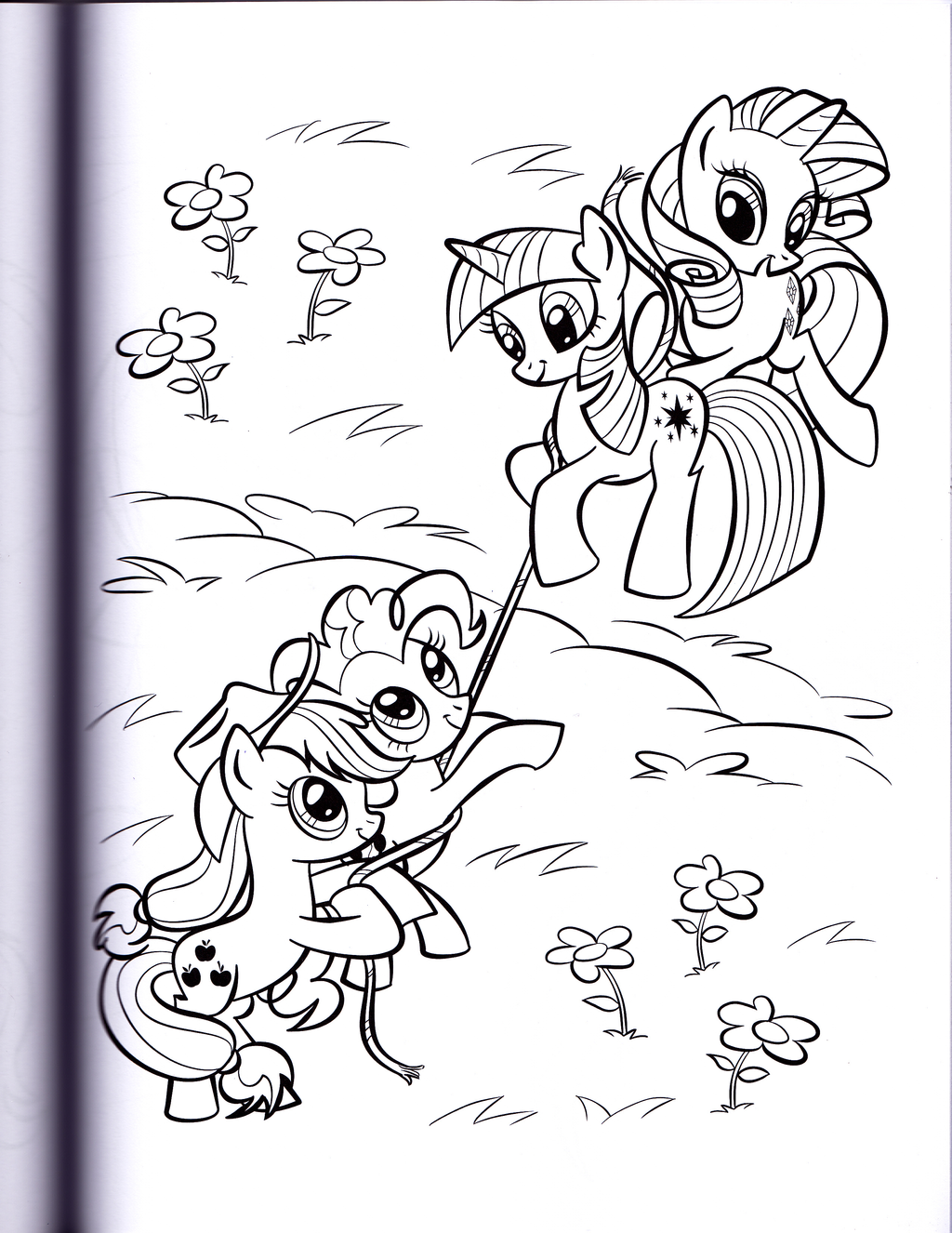 twilight and rarity mlp coloring book by kwark85 - Mlp Coloring Book