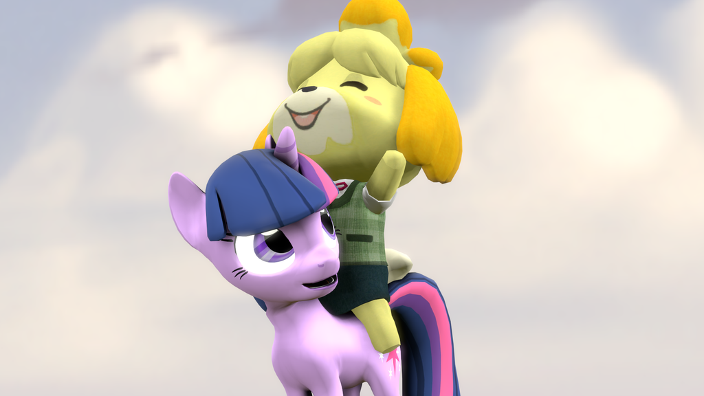 (SFM)Twilight and Isabelle by kwark85