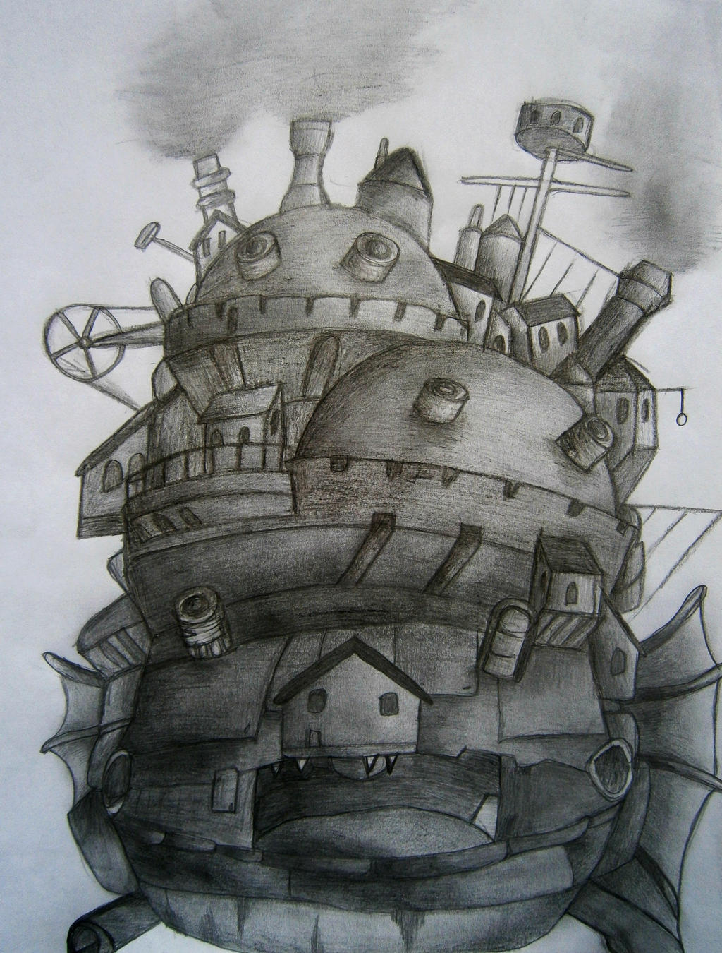 The Castle by Piecesintheirgames