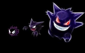 Gastly Haunter Gengar by KirikaSohma