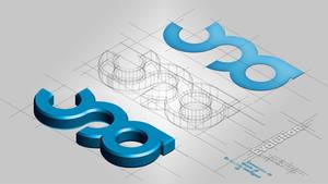 Passage a la 3D du logo