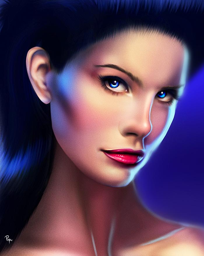 Lana Del Rey digital drawing by Madonna1250
