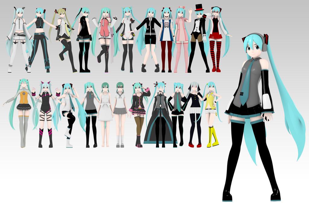 hatsune miku wallpaper outfits - photo #14