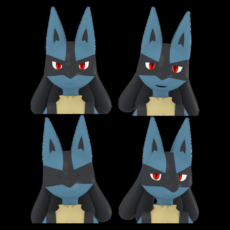 Pokemon Characters - Lucario Pokemon