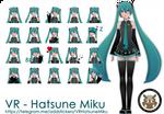 Telegram Sticker Pack: VR - Hatsune Miku
