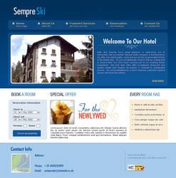 SempreSki website by designer-hassan