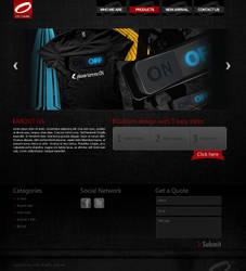 Octane Website by designer-hassan