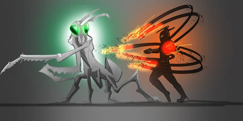 Mantis Fight
