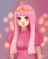 Adventure Time Princ Bubblegum by peeps4tea